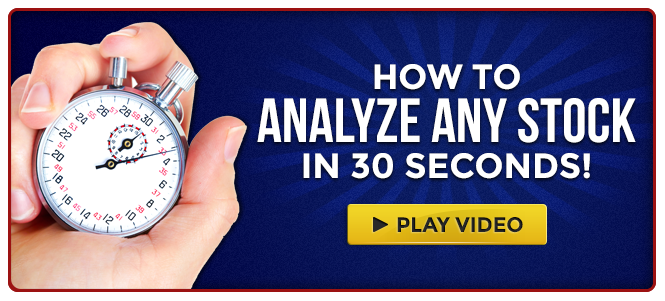 How to Analyze Any Stock in 30 Seconds