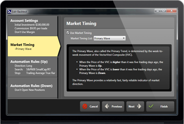 Vectorvest trading system