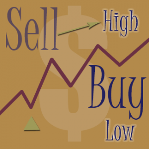 Buy Low Sell High graphic