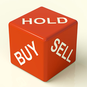 Die reading Buy, Hold, Sell