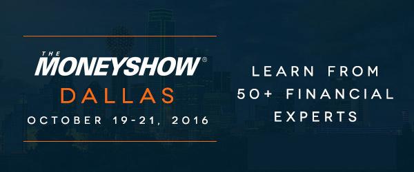 Dallas MoneyShow 2016 header